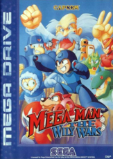 Mega Man The Wily Wars box