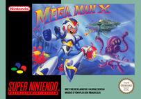 Mega Man X European Box Art