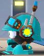 Rockman X DiVE Mettaur Commander Blue