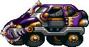 Mad Taxi Purple
