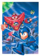 Mega Man 5 European artwork