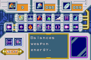 MM&B Item Select Screen (GBA)