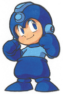 MM8 Chibi Mega Man