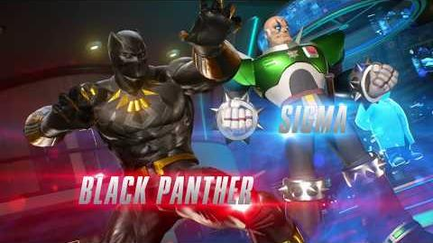 Marvel vs. Capcom Infinite - Black Panther and Sigma Gameplay Trailer