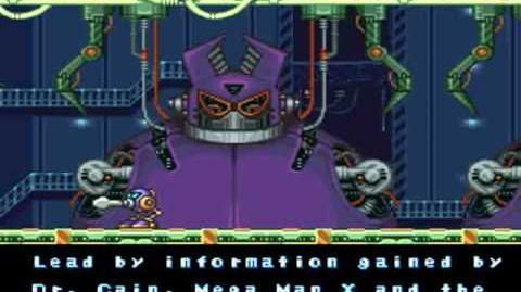 Mega Man X2 Opening