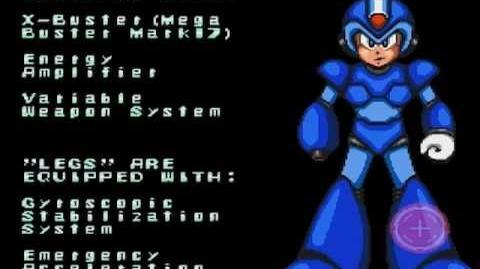Megaman X SNES - Intro
