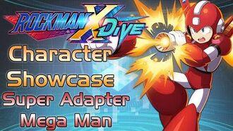 Mega Man X DiVE - Super Adapter Mega Man Showcase Gameplay, Skills, Art, & 3D Model