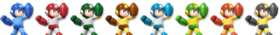 (SSB4) Mega Man palette