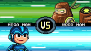 MMFC Mega Man VS Wood Man