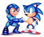 Mega Man & Sonic