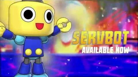 Servbots come to Puzzle Fighter