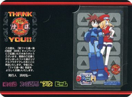 Famitsu Rockman DASH Phone Card