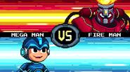 MMFC Mega Man vs Fire Man