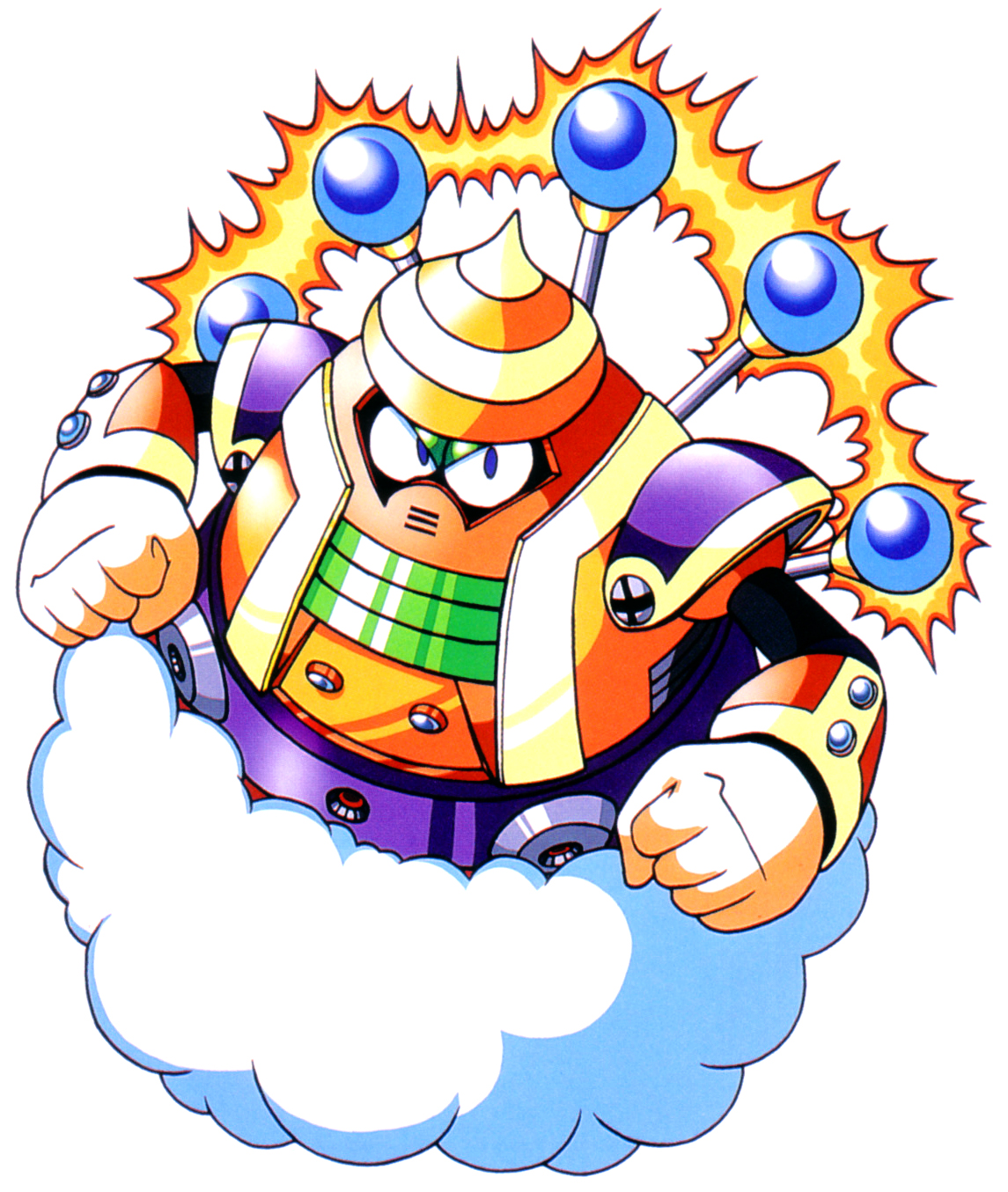 Cloud man mmkb fandom powered by wikia - Megaman wikia ...