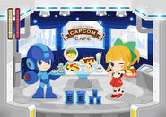 Capcom Cafe Rockman