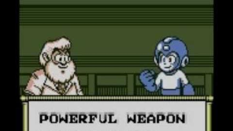 Gameboy Mega Man V Intro and Title Screen