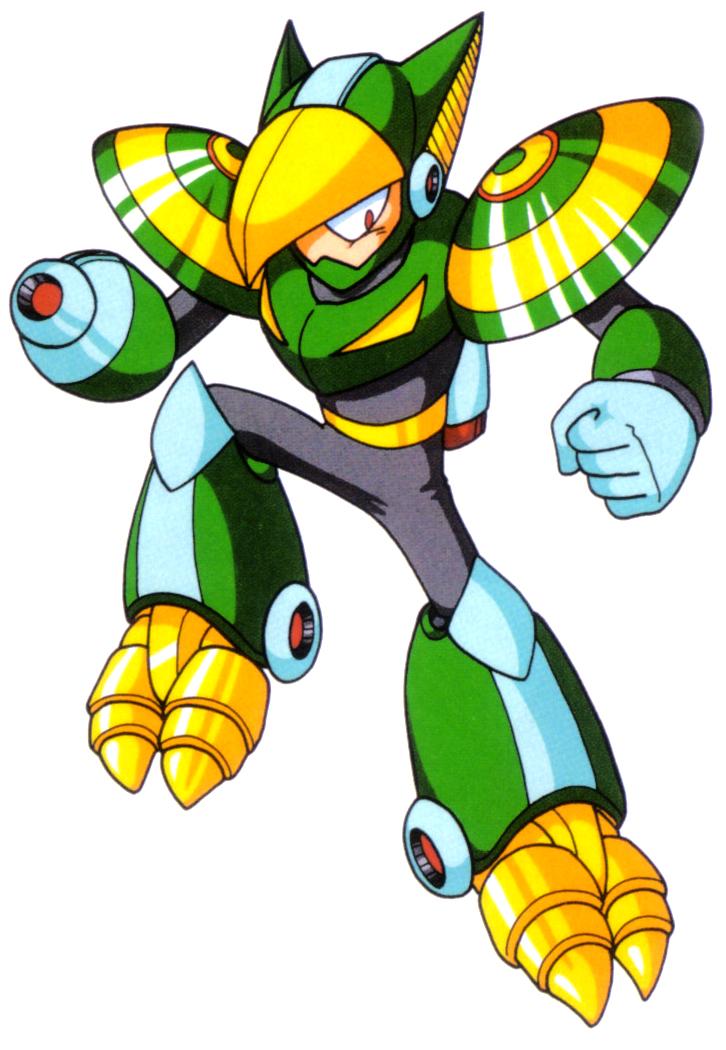 Gyroman Megaman