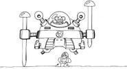MM3 Wily Machine 3 concept 3