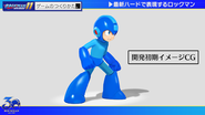 Mega Man 11 CG model