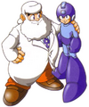 Doctor Light and Mega Man