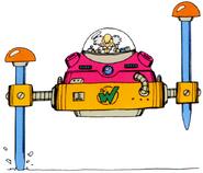 MM3 Wily Machine 3 (Form 2)