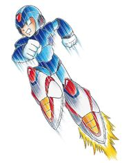MMX2 X (Air Dash)