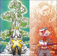RockMan Zero idea - notes Yggdrasil and Elpizo