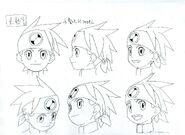 Lan Hikari - Sketch 3