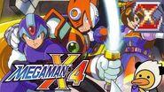 Mega Man X4 Zero Full Playthrough - Selrahc (100% Black Zero Armor, 4K HD, No Commentary)