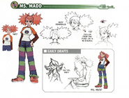 Ms. Madd concept art