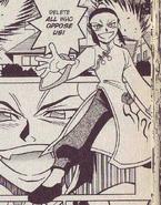 Rei Saiko in NT Warrior manga