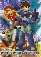 Mega Man Trading Cards C8