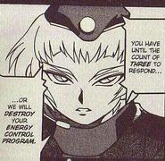 Raika in NT Warrior manga