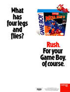 Mega Man II Advertisement