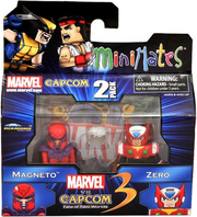 Minimates Marvel vs Capcom 3 Magneto vs Zero