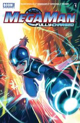 Mega Man: Fully Charged (BOOM! Studios) Issue 1