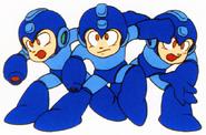 MM3 Holograph Mega Mans