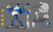 Mega Man Fully Charged Good Guild Concept B