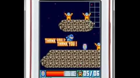 Mega Man Space Rescue gameplay demonstration