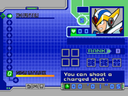 MMX6 Weapon Select Screen (X)