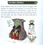 Concept art of FM King Cepheus