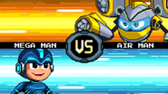 MMFC Mega Man VS Air Man