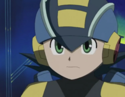 MegaMan.EXE in EP 1 NT Warrior (anime)