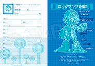 Rockman Classics Collection Notebook Sample 9