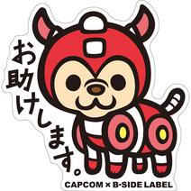 CAPCOM × B-SIDE LABEL Colab Sticker Rockman Rush