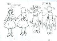 Mayl Sakurai & Roll.EXE - Sketch
