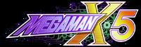 Mega man x5 logo nlvqe-350t
