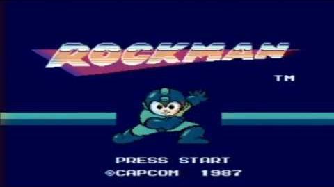 RockMan Nintendo Entertainment System Gameplay