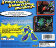 Mega Man X4 (PlayStation) (EU) back