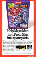 Mega Man 5 Advertisement